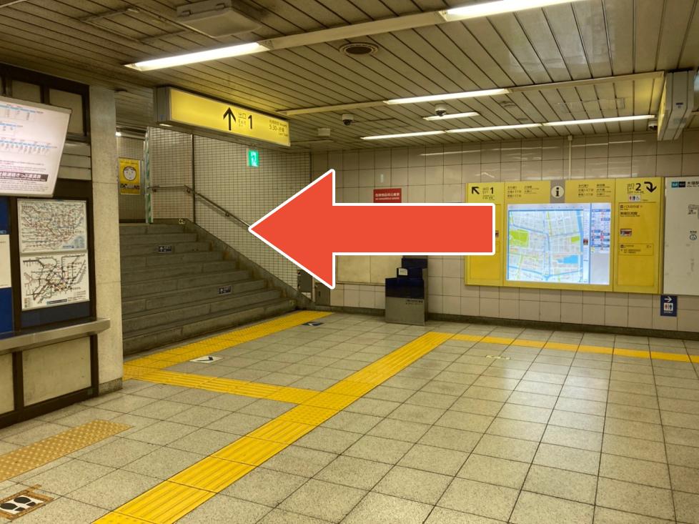 東西線木場駅から第二服部医院までの道順2